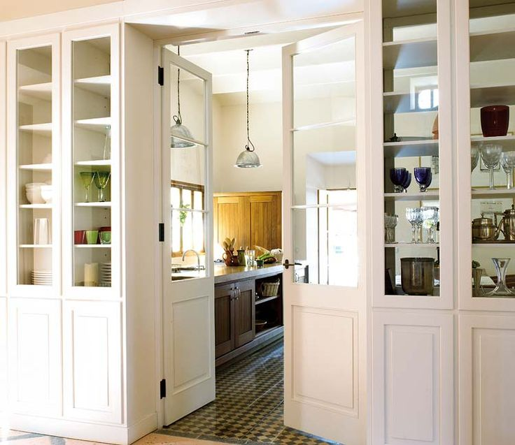Glass Front Room Dividing Cabinets So Stylish
