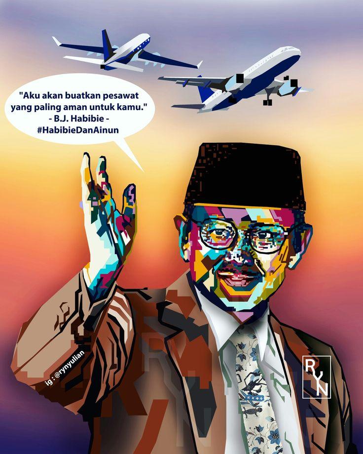 Sosok yang sangat saya kagumi  Bapak B.J. Habibie  WPAP Oleh : Ririn Yulianingsih  Pengen order WPAP? Feel free to ask me Line : rynyulian30071995 BBM : 5AE51165 WA : 081949456140 #ryn #rynyulian #portofolio #wpap #wpapindo #bjhabibie #habibie #airplane #pesawat #indonesia #art #artist #artwork #desain #design #digital #painting #seni #popart #drawing #vector #illustration #artist #photoshop #vector_id