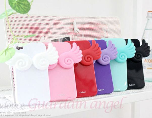 LG Optimus F7 Guardian Angel Lovely Jelly Smartphone Case