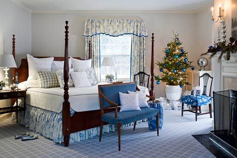Colorful Christmas in a Colonial - Traditional Home®