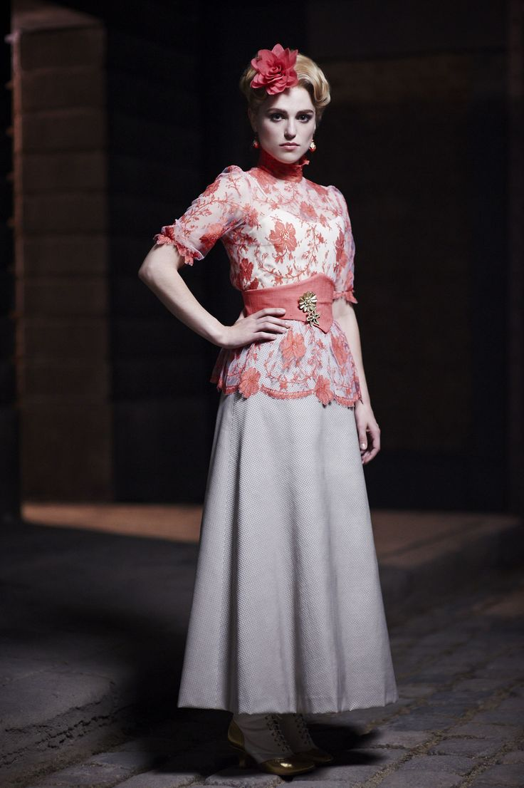 Katie McGrath portraying Lucy Westenra in Dracula 2013 tv series.