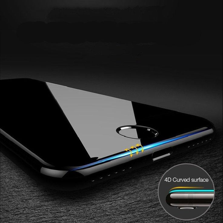 Bakeey 4D Curved Edge Cold Carving Tempered Glass Screen Protector For iPhone 7 Plus 5.5 Inch Sale - Banggood.com