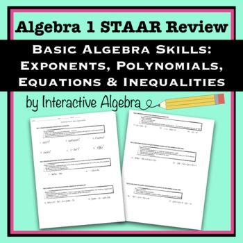 17 best Algebra 1 STAAR Review images on Pinterest | Algebra 1 ...