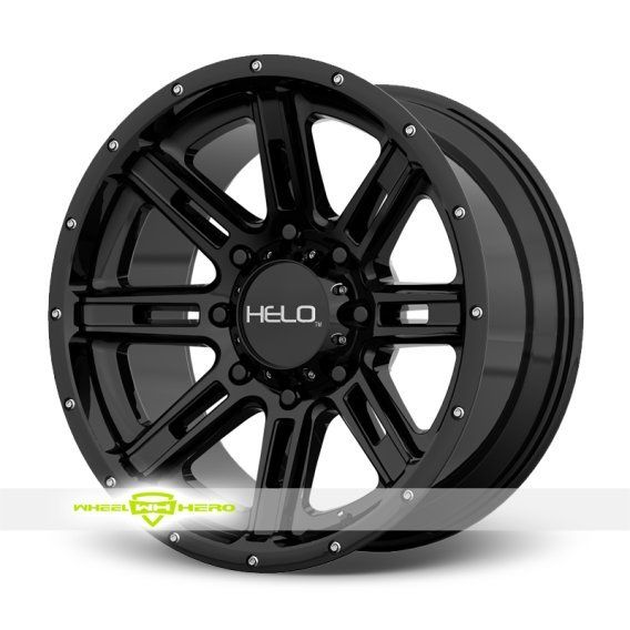 Helo HE900 Black Wheels For Sale & Helo HE900 Rims And Tires
