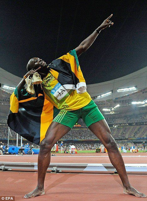 JAMAICA SUPERSTAR USAIN BOLT STILL THE FASTEST MAN IN 2012!! CONGRATS!!