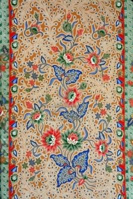 ☮ American Hippie Art Pattern Design Wallpaper ~ Batik - Plant Motif