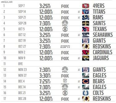 2014 2015 Dallas Cowboys schedule 2014 2015 - Print 2014 2015 Dallas Cowboys schedule 2014 2015 Print - The Boys Are Back website