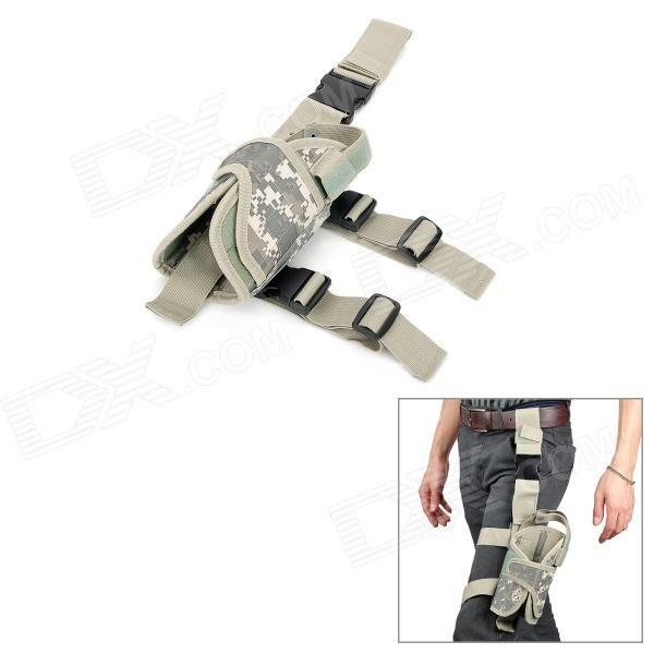 Military Outdoor War Game Gun Pistol Holster - Light Army Green Price: $13.00