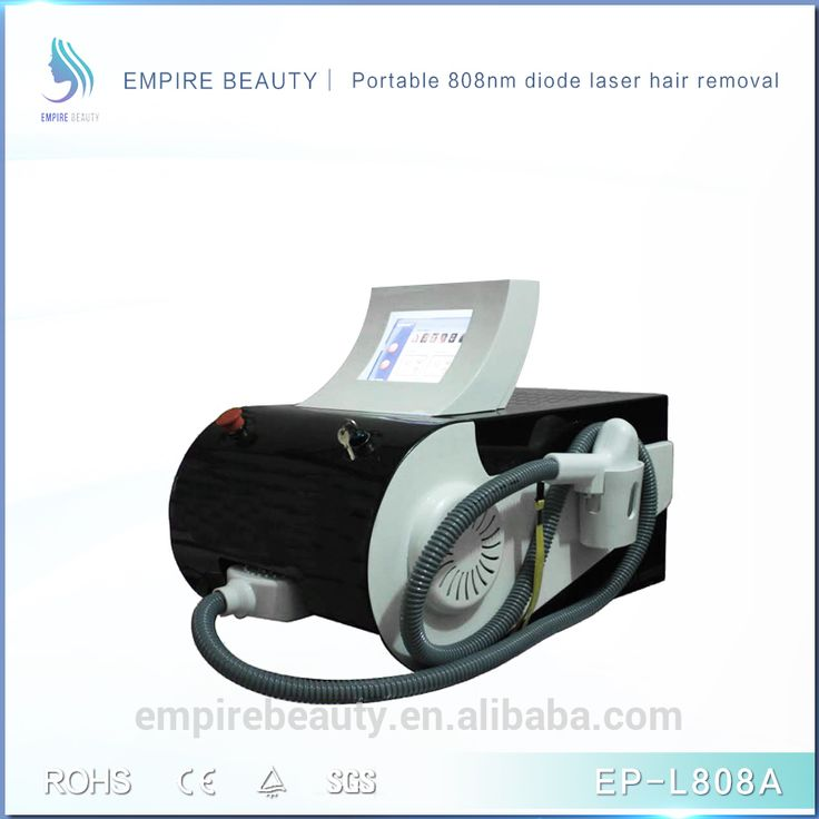 Portable diode laser 808nm hair removal