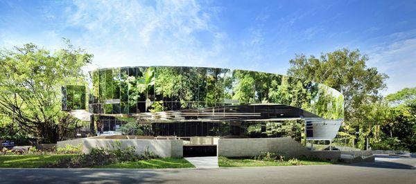 Cairns Botanic Gardens Visitors Center, Queensland, Australia, Charles Wright Architects, CWA