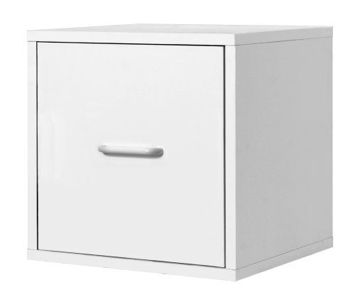 Foremost 390101 modular file cube storage system white for Foremost modular homes