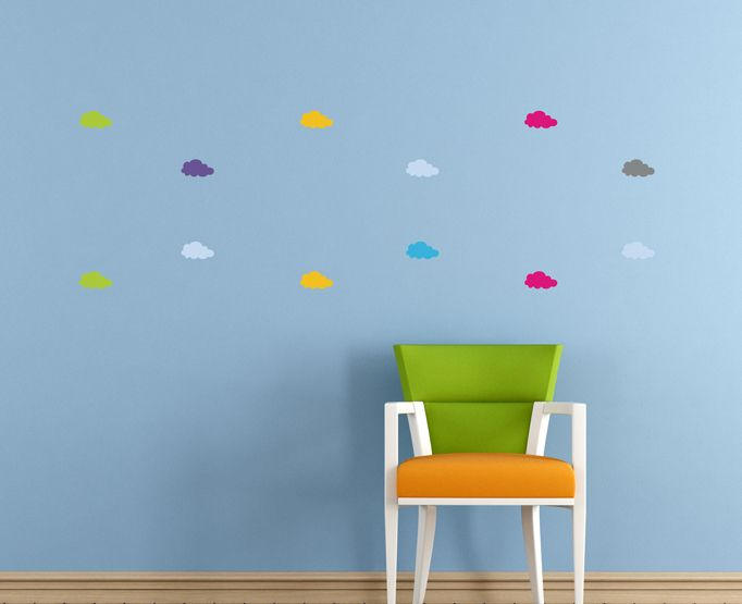 Removable Cloud stickers by BC Magic Wallpaper