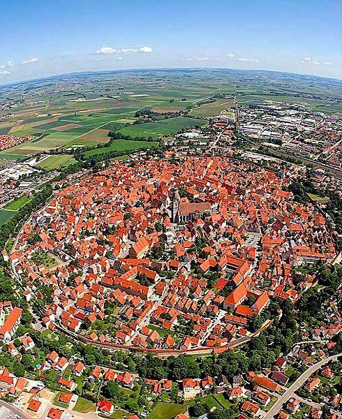 Rothenburg ob der Tauber medieval walled town, Bavaria, Germany
