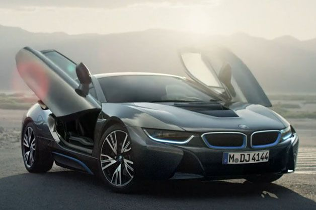 Gus Van Sant casts the BMW i8 in soft light
