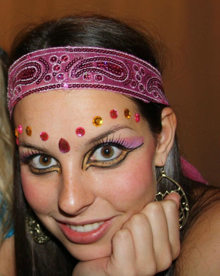 gypsy makeup from halloween last year! - Imgur. by reddit ...