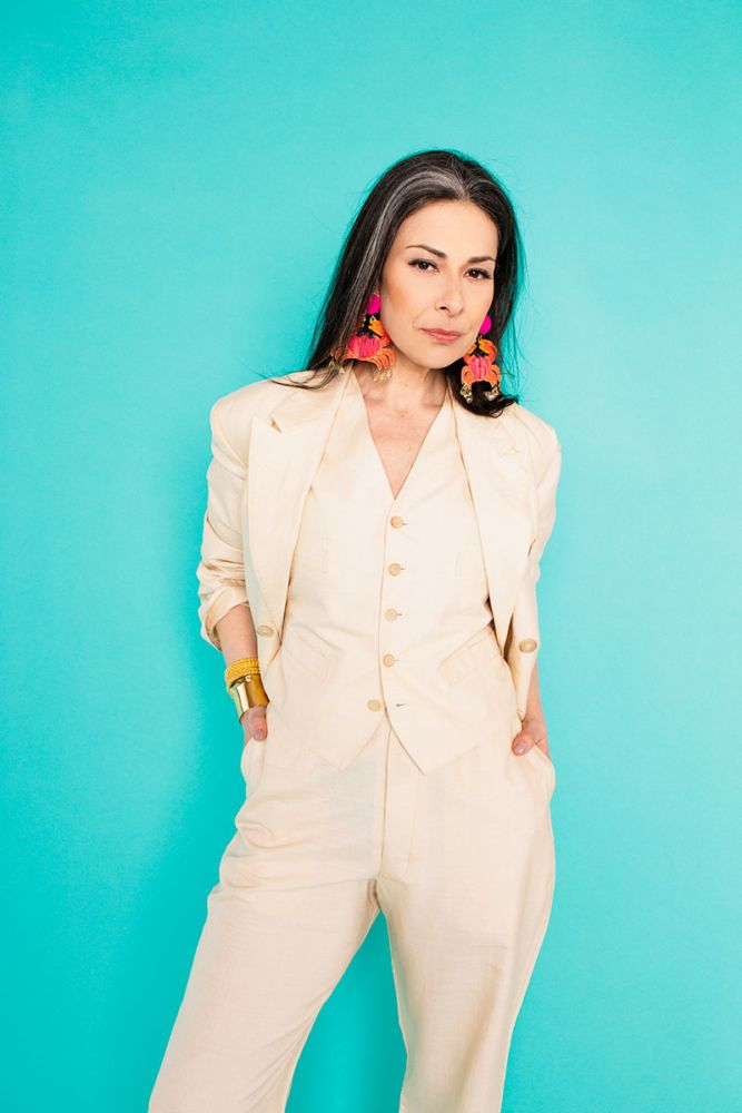 We gave Stacy London a style makeover, MR-style. (Think big pants and weird layers.) We also talked about age, how style changes with age, and how to deal with the awkward in-between of a style transition.