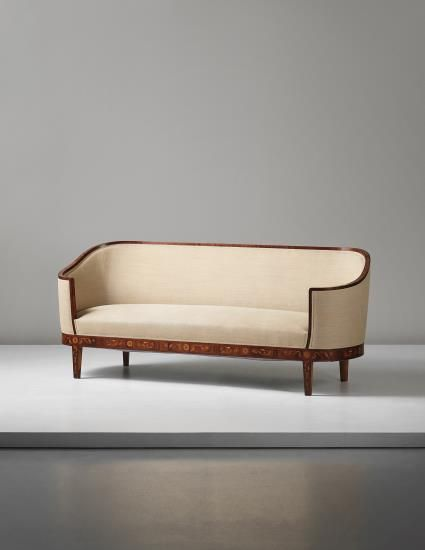 PHILLIPS : UK050414, Carl Malmsten, Sofa