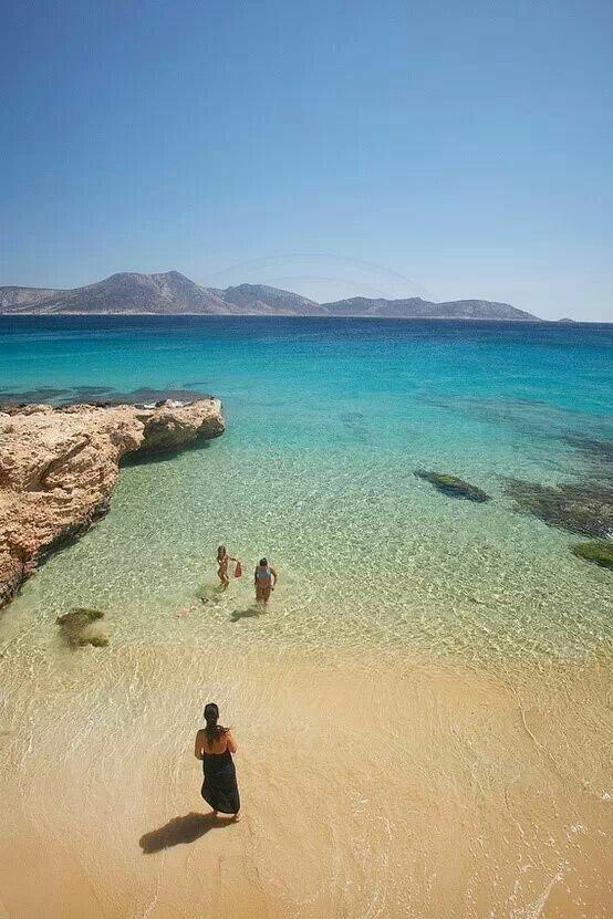 Koufonissia, Cyclades islands, Greece / Otroligt fin liten ö, med klart vatten, Grekland