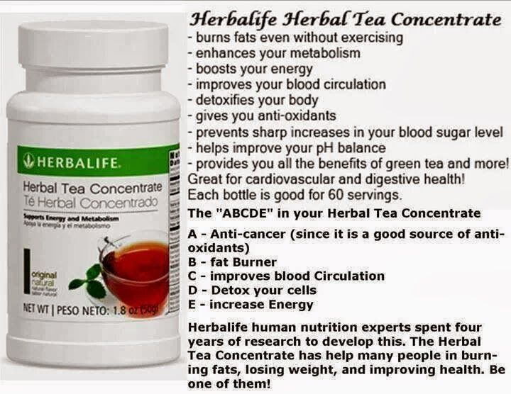 Herbalife Herbal Tea Concentrate Side Effects - Goherbalife.com/EvelynNaomi