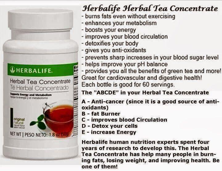 Herbalife Herbal Tea Concentrate Side Effects - Goherbalife.com/EvelynNaomi