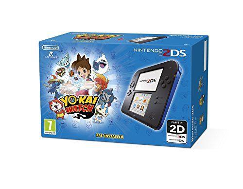 Nintendo Handheld Console 2DS - Black/Blue with Yo-Kai Watch