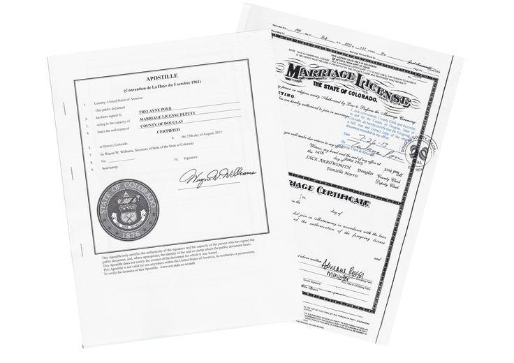colorado apostille state marriage license sample certificate birth alabama
