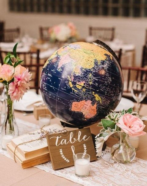 Ah, there are so many adorable travel-theme ideas that are exciting yet budget-savvy! | LOVE LOVE LOVE EVERYTHING ON THIS PAGE