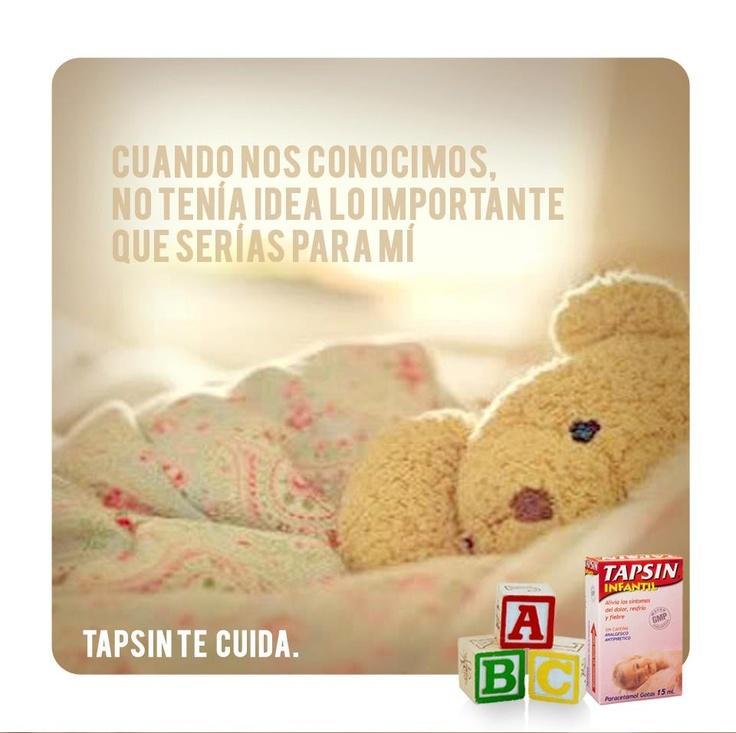 ¿Nuestro engreído tiene fiebre o malestar? No te preocupes, Tapsin Infantil lo cuida. Rápido alivio de la fiebre y el dolor para niños de 0 a 6 años.