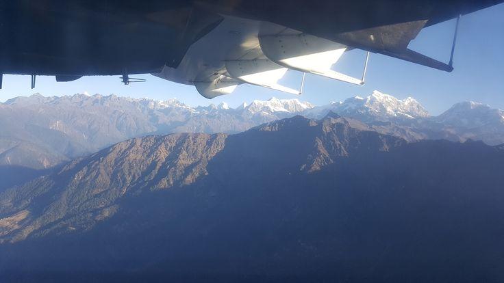 Fly from Lukla back to Kathmandu