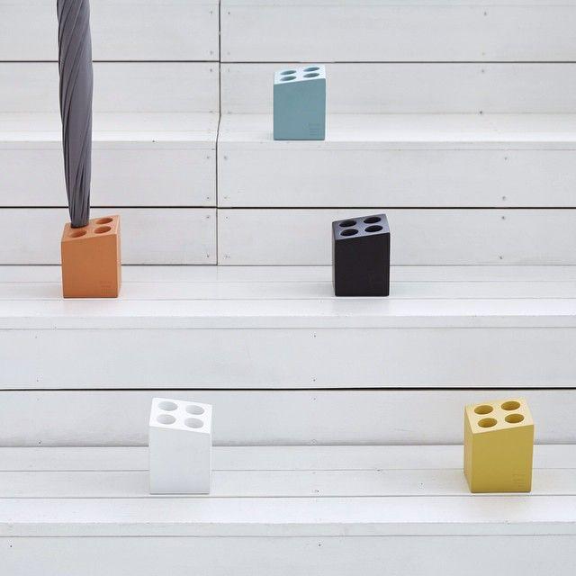 """Umbrella Stand """"mini cube"""" 5color"""