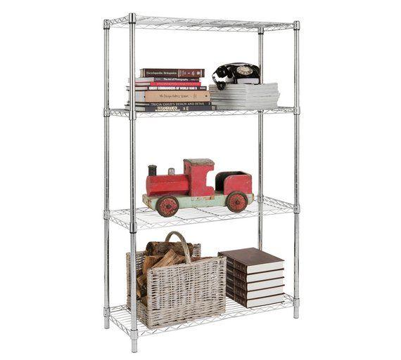 best 25 metal shelving ideas on pinterest. Black Bedroom Furniture Sets. Home Design Ideas