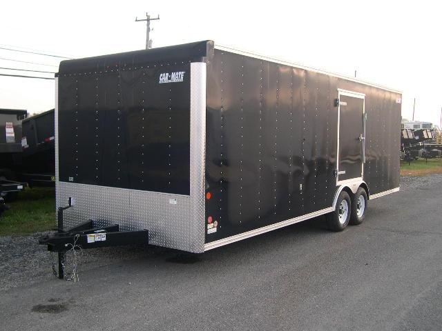 #Black CarMate enclosed #car trailer!
