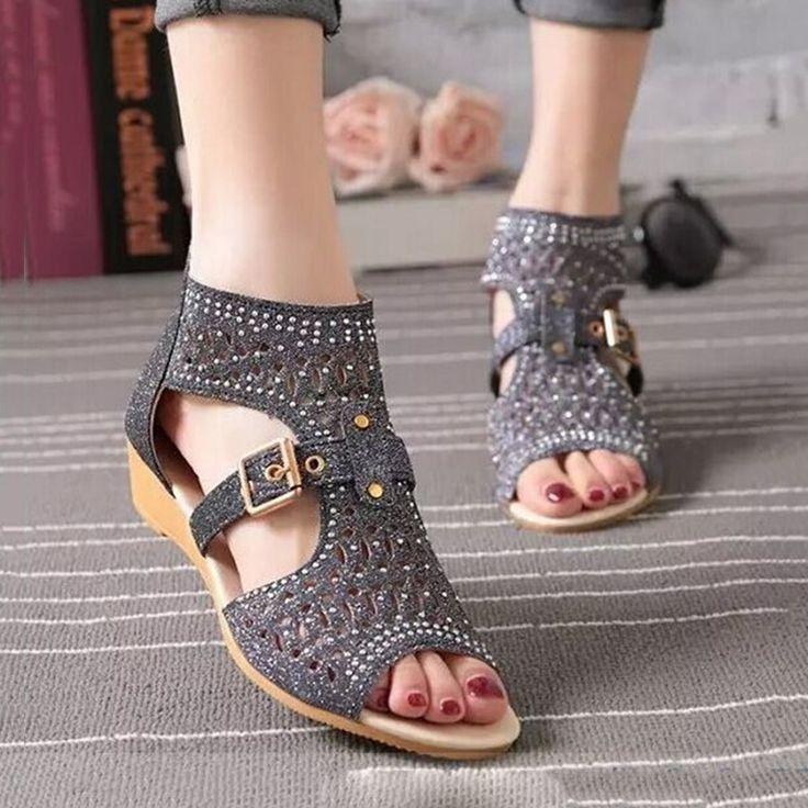 $9.02 (Buy here: https://alitems.com/g/1e8d114494ebda23ff8b16525dc3e8/?i=5&ulp=https%3A%2F%2Fwww.aliexpress.com%2Fitem%2FWomen-Rhinestone-Wedges-Sandals-Fashion-Brand-Summer-Roma-Gladiator-Sandals-Open-Toe-Shoes-Female%2F32787045422.html ) Women Sandals Bohemian Beach Shoes Women Wedge Sandals Ladies Summer Sandals for just $9.02