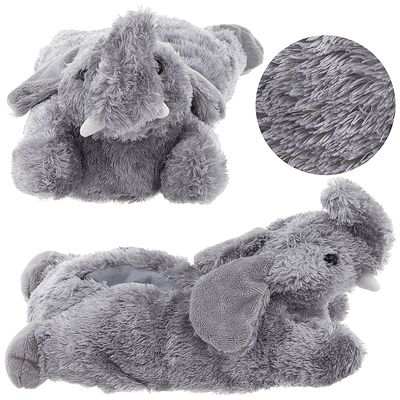 Elephant Animal Slippers for Women - Click to enlarge