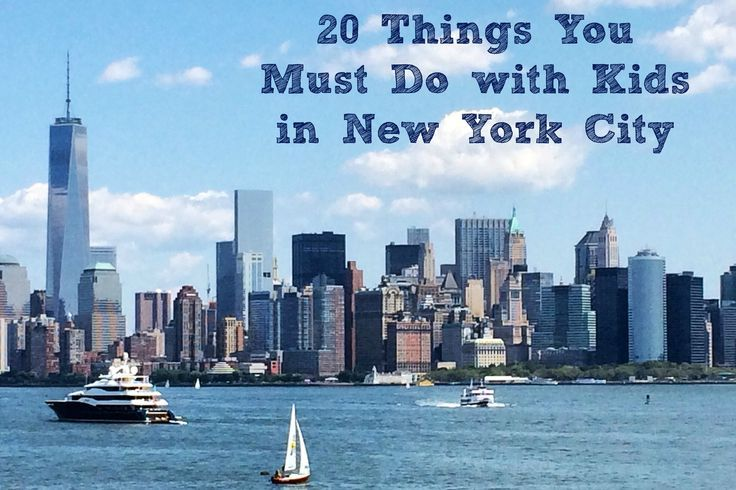 20 Things You Must Do with Kids in New York City
