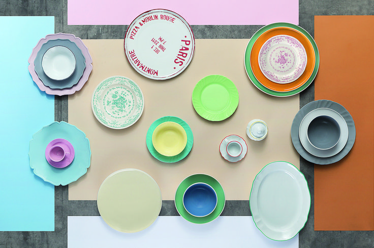 Tableware with lots of love, of course at Lampiris interiors
