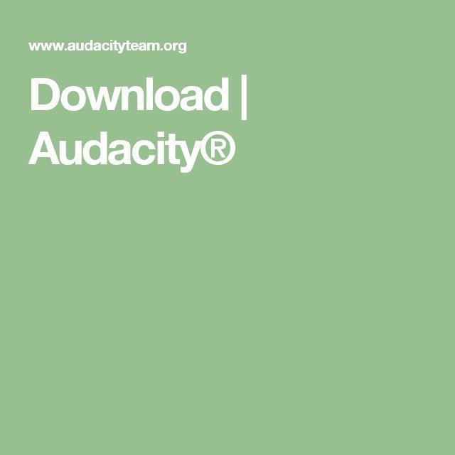 Download | Audacity®
