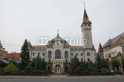 Town Hall of Târgu Mureș, Romania