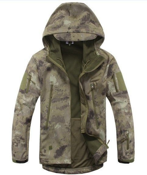 High quality Lurker Shark skin Soft Shell TAD V 4.0 Outdoor Military Tactical Jacket Waterproof Windproof Sports Army Clothing