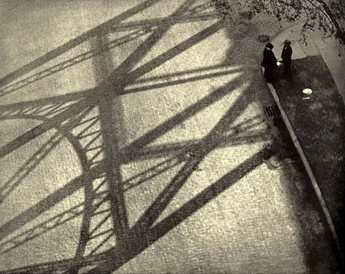Paul Stand - From the viaduct, 125th Street, New York, 1916