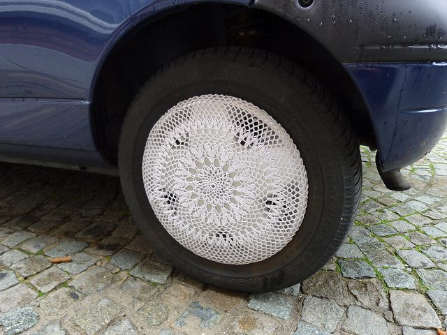 crochet for your car!