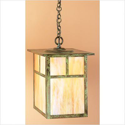 """Arroyo Craftsman MH Mission Hanging Lantern by Arroyo Craftsman. $167.82. Arroyo Craftsman MH Features: -Mission collection. -Available in several finishes. -Available in several shade colors. -Available overlay in Empty and T - Bar. -UL listed. -Suitable in damp location. Specifications: -Accommodates: 1 x 100W / 150W medium incandescent bulb. -Mounting base: 4.25"""" W x 4.25"""" D. -Available sizes:. -22.38"""" overall dimensions: 22.38"""" H x 15"""" W. -Extension: 58.38""""...."""