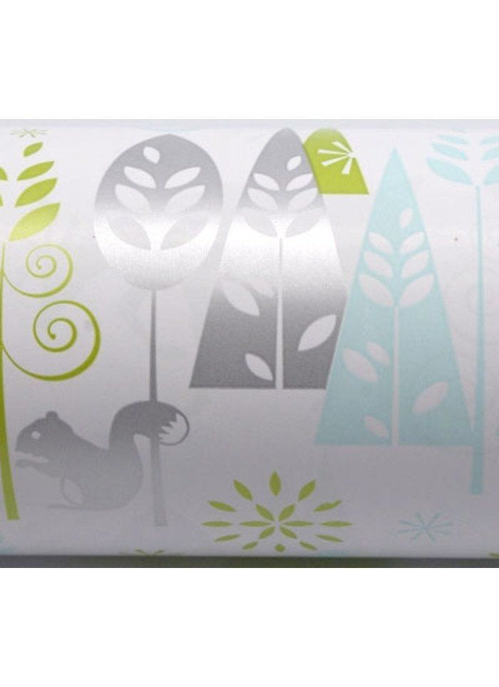 Wrapping Paper Roll - Woodland