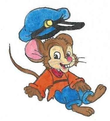 Fievel Mousekewitz from An American Tail (1986).  (C) Universal Studios & Amblin Entertainment