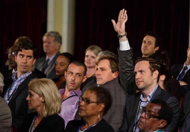 Mark Baum (Steve Carell) non abbocca alle cazzate. Fa domande senza timore di nessuno.