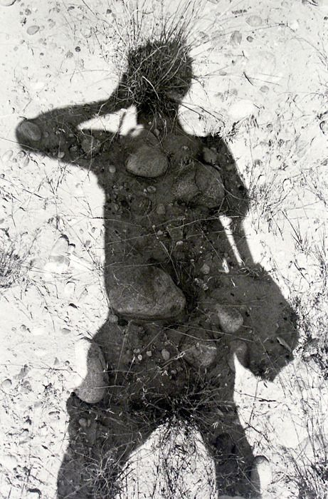Lee Friedlander  Self-Portrait in Shadow, c. 1970