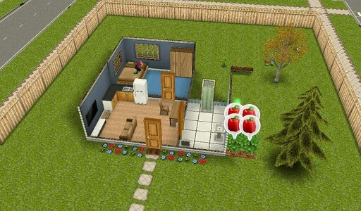 Game: Sims Free play, kindle fire