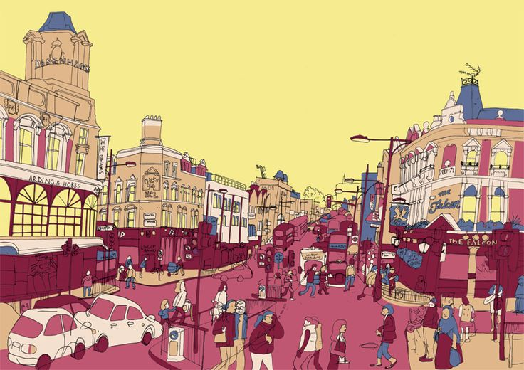 Clapham Junction - illustration