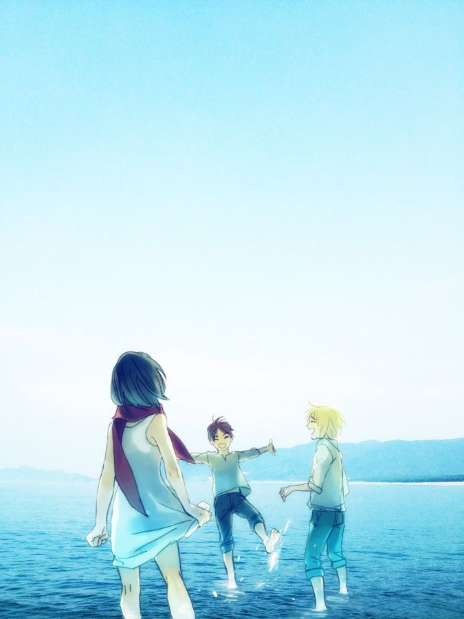 Eren, Mikasa and Armin | Shingeki no Kyojin (Attack on Titan - Ataque de los Titanes)