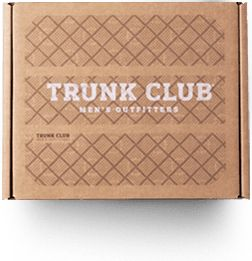 Trunk Club - A men's clothing outfitters - you choose your style, they ship you a box of clothes, you return what you don't want and pay for the clothes you keep.